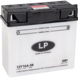 Landport 12Y16A-3B / 12V 19Ah A Jobb+ motor akkumulátor