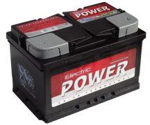 Electric Power 12V 72Ah/640A autó akkumulátor