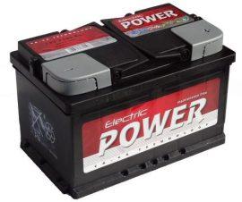 Electric Power 12V 72Ah/680A autó akkumulátor