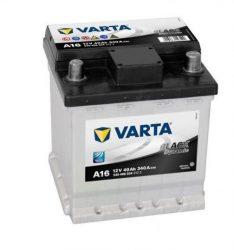 VARTA A16 Black Dynamic  12V 40Ah/ 340A (Fiat Punto) Jobb+