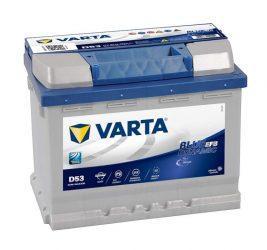 VARTA  Blue Dynamic N60 EFB 12V 60Ah/640A Autó Akkumulator Jobb+