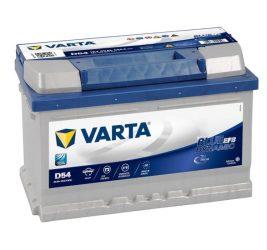 VARTA Blue Dynamic D54 EFB  12V 65Ah/650A Autó Akkumulator  Jobb+