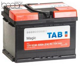 TAB Magic Plus 12V 62Ah 640A /EN/
