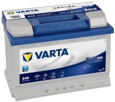 VARTA Blue Dynamic N70 EFB 12V 70Ah/760A Autó akkumulator Jobb+