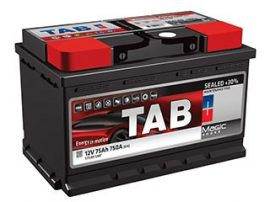 TAB Magic Plus 12V 75Ah  720A /EN/