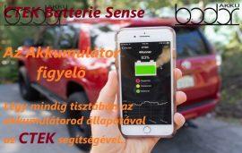 CTEK - CTX BATTERY SENSE akkumulátor töltöttségi állapot visszajelző