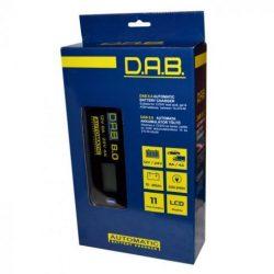 DAB 8.0 A automata 12/24V akkumulátortöltő