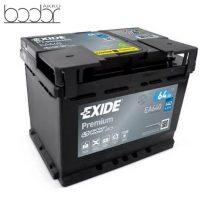 Exide Prémium EA640 12V 64Ah/640A autó akkumulátor