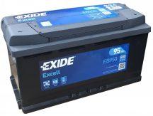 Exide Excell EB950 12V 95Ah/800A autó akkumulátor Jobb+