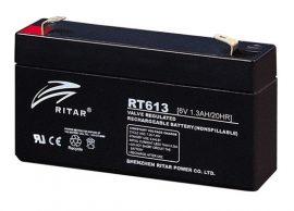 Ritar RT613-F1 6V 1.3Ah zárt ólomakkumulátor