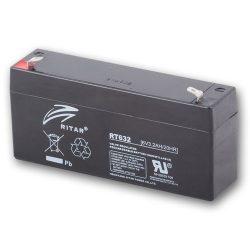 Ritar RT632-F1 6V 3.2Ah zárt ólomakkumulátor
