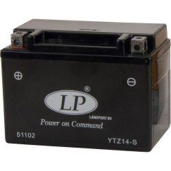 Landport SLA YTZ14-S 12V 12Ah/230A (AGM) Motor akkumulátor