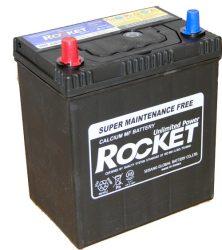 Rocket SMF42B19R 12V 40Ah/340A autó akkumulátor