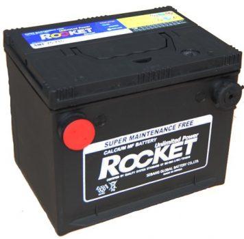 Rocket SMF75-710 12V 66Ah/710A oldalcsatlakozós akkumulátor