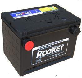 Rocket SMF78-780 12V 74Ah/780A oldalcsatlakozós akkumulátor