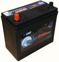 VMF AGM 545350R 12V - 45Ah - 350A Ball+