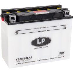 Landport Y50-N18LA2 / 12V 20Ah 300A Jobb+ motor akkumulátor