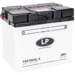 Landport Y60-N24L-A / 12V 28Ah 300A Jobb+ motor akkumulátor