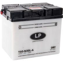 Landport 12V 30Ah 300A Bal+ motor akkumulátor