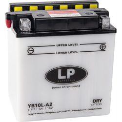 Landport YB10L-A2 / 12V 11Ah 160A Jobb+ motor akkumulátor