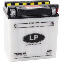 Landport YB10L-B2 / 12V 11Ah 160A Jobb+ motor akkumulátor