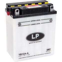 Landport YB12A-A /  12V 12Ah 190A Bal+ motor akkumulátor