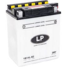 Landport 12V 14Ah 190A Bal+ motor akkumulátor
