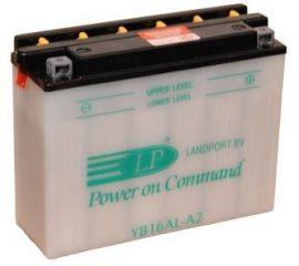 Landport YB16AL-A2 / 12V 16Ah A Jobb+ motor akkumulátor