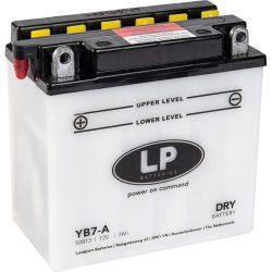 Landport YB7-A / 12V 8Ah 124A Bal+ motor akkumulátor