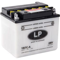 Landport YB7C-A / 12V 7Ah 124A Jobb+ motor akkumulátor