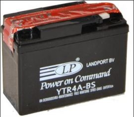 Landport YTR4A-BS / 12V 2,3Ah 70A Jobb+ motor akkumulátor