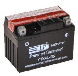Landport YTX4L-BS / 12V 3Ah 45A Jobb+ motor akkumulátor