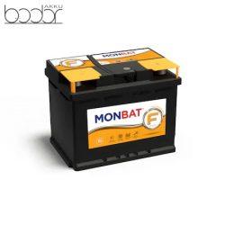 Monbat 12V 63Ah/550A autó akkumulátor